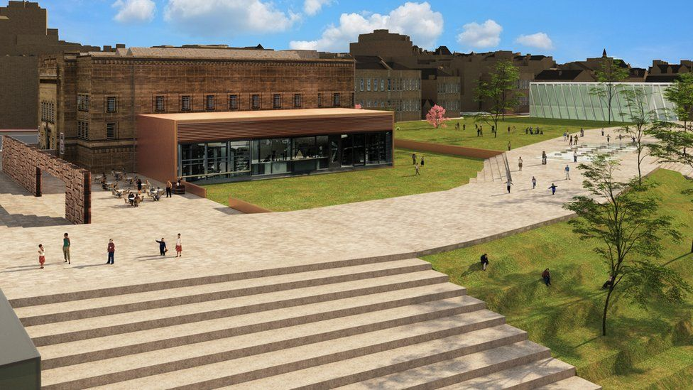 An artist's impression of the cultural area