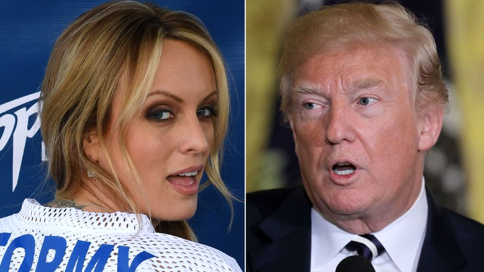 Why the Stormy Daniels-Donald Trump story matters - BBC News