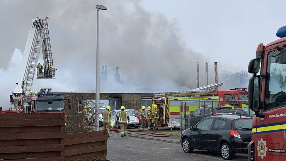 Park Primary fire