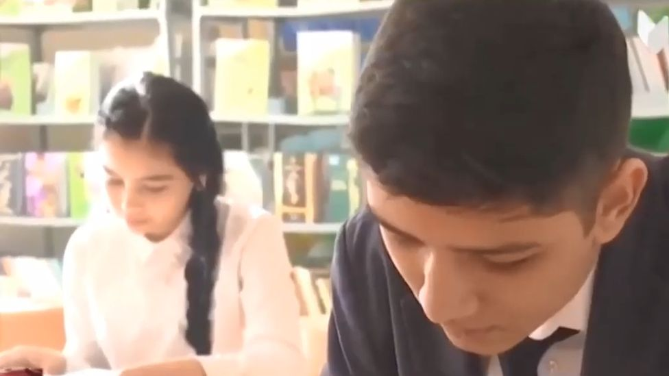 School students, Uzbekistan