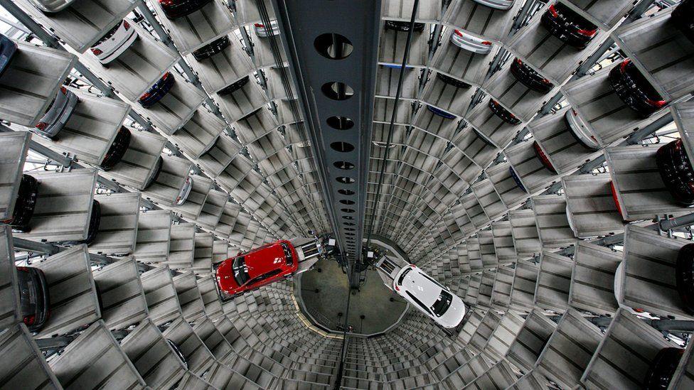 Volkswagen car storage