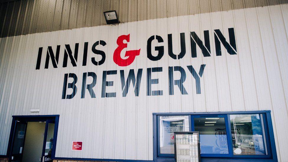 Innis & Gunn Brewery in Perth