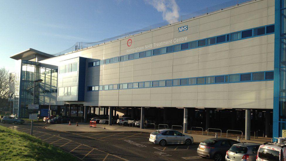 NHS treatment centre at the QMC