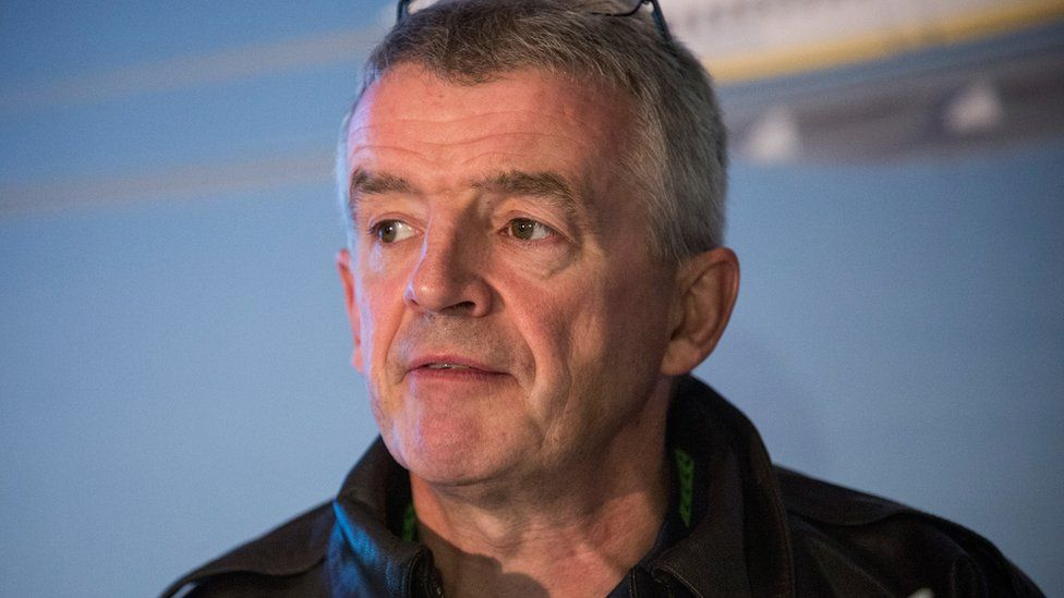 Chief executive of Ryanair, Michael O'Leary