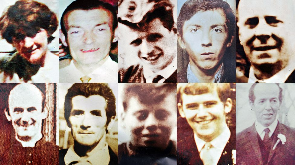 Nine men and a woman were killed in Ballymurphy in August 1971