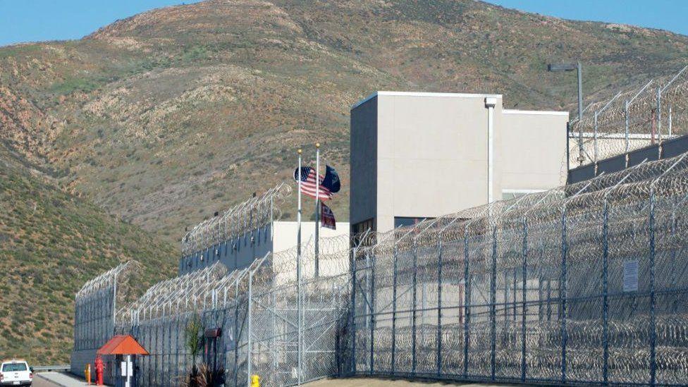 Otay Mesa detention centre file photo
