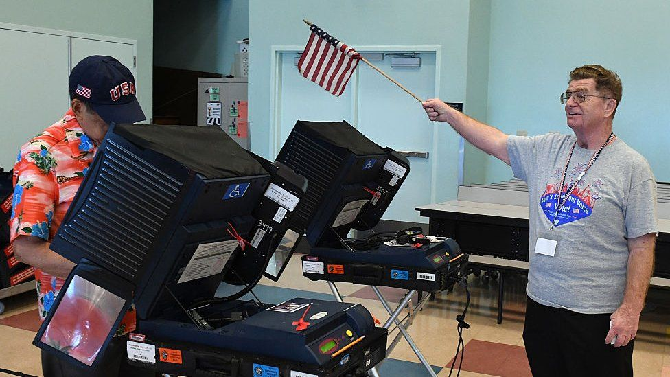 Voting machines during 2016 presidential election