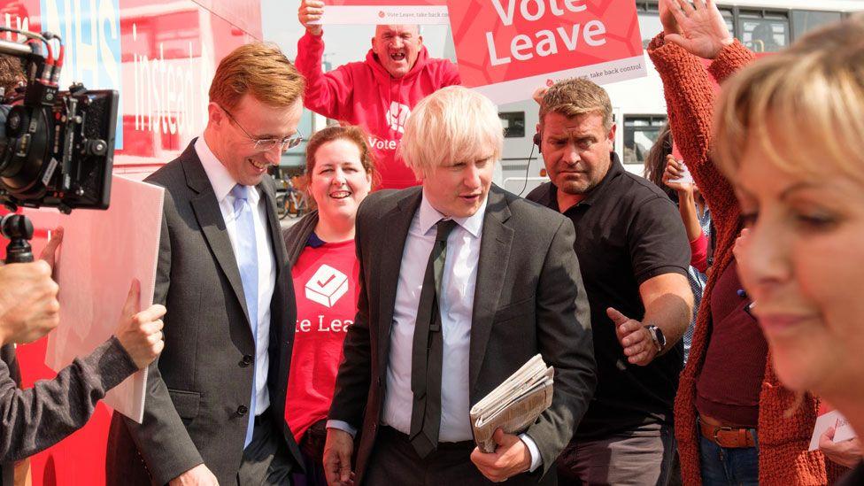 John Heffernan and Richard Goulding in Brexit: The Uncivil War