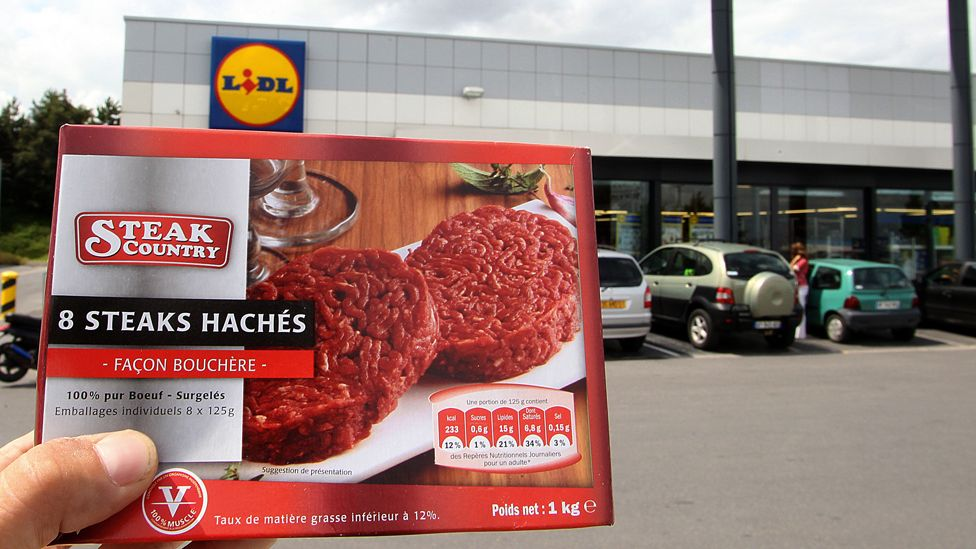Steak Country beef burger package of type withdrawn from sale in 2011