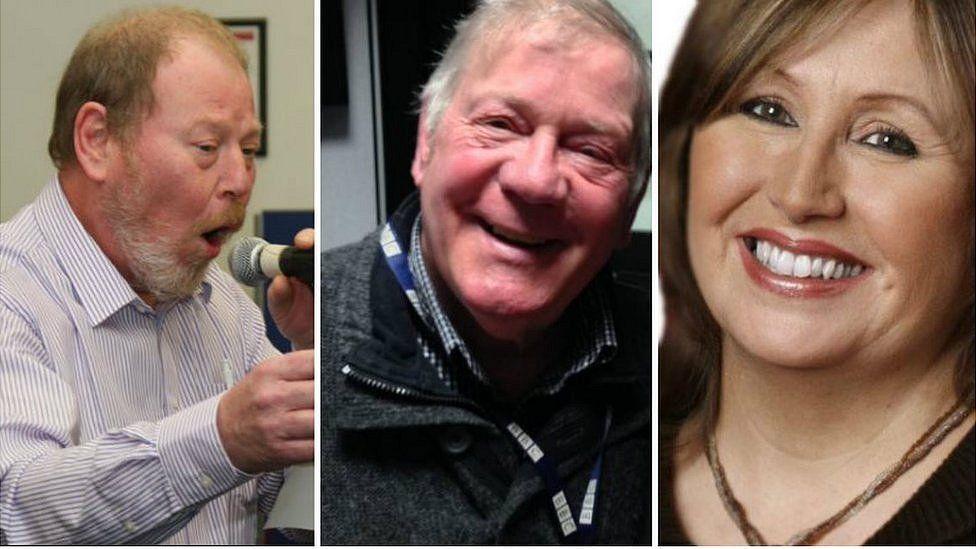 Roger Phillips, Billy Butler and Linda McDermott