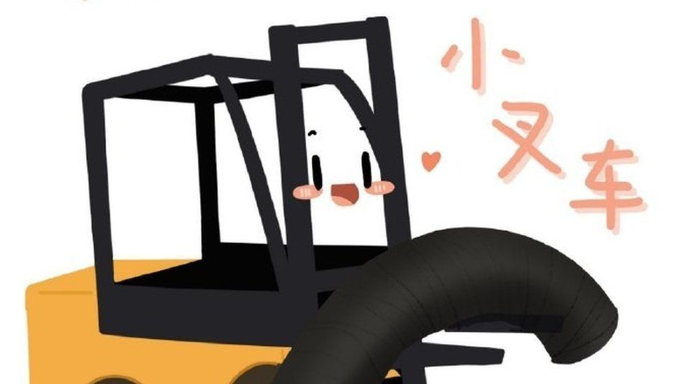 The little forklifts are China's most beloved construction stars