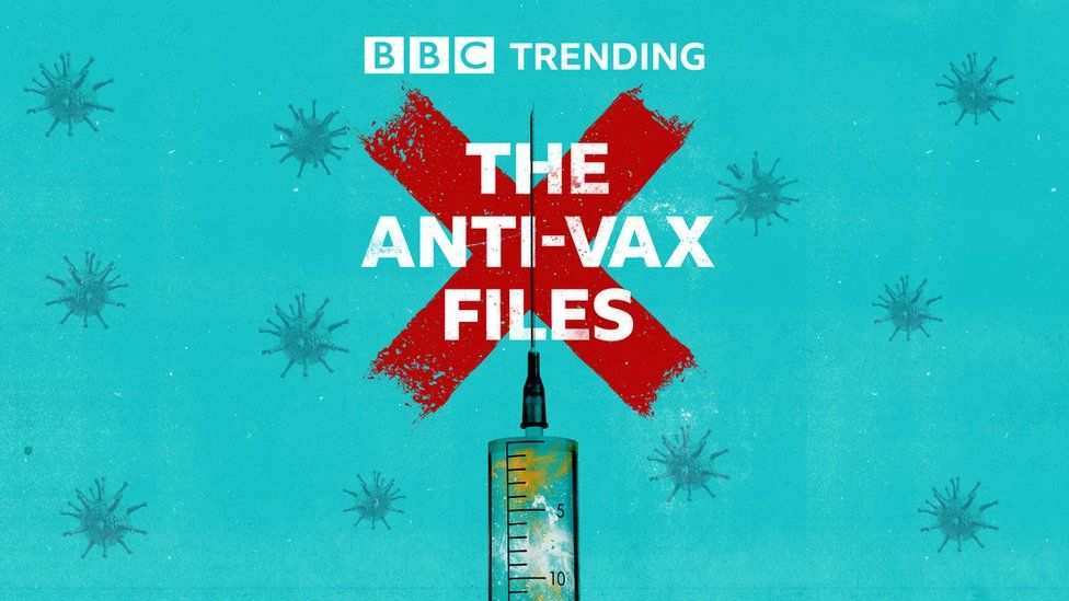 Logo for The Anti-Vax Files