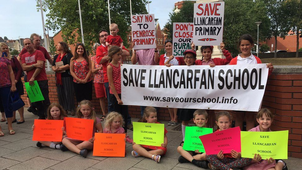 Campaigners fighting to save Llancarfan Primary School