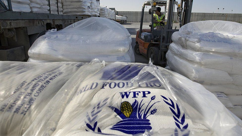 Humanitarian aid from the World Food Programme