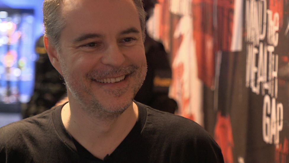 The game's creative director Clint Hocking