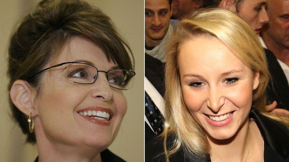 Sarah Palin and Marion Marechal Le Pen