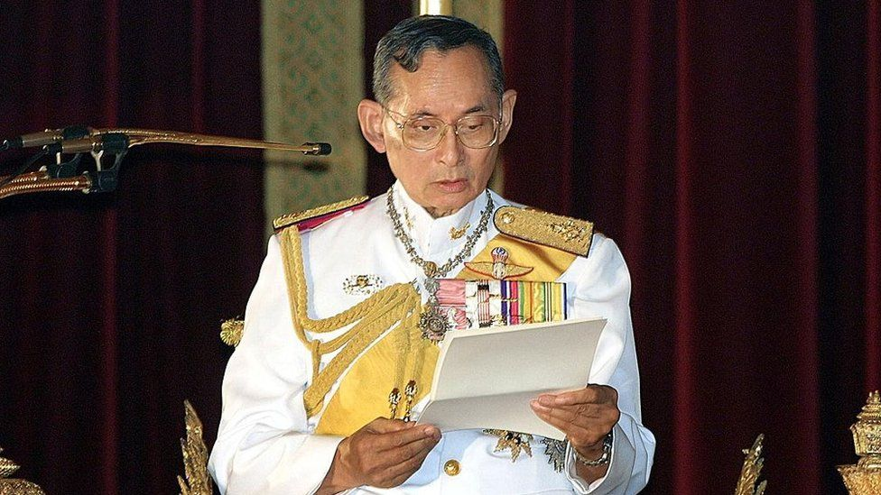 Former King Bhumibol Adulyadej, 2001