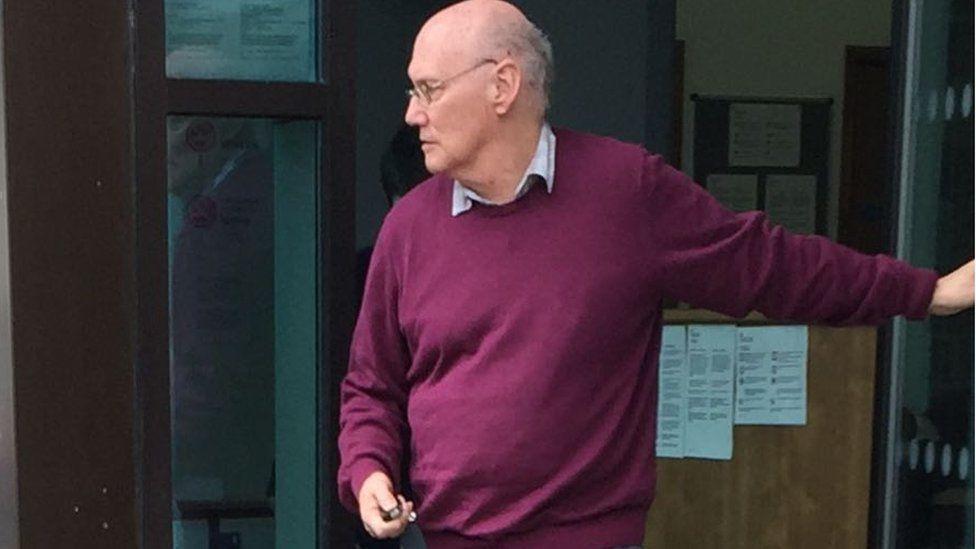 Gordon Fleming at court