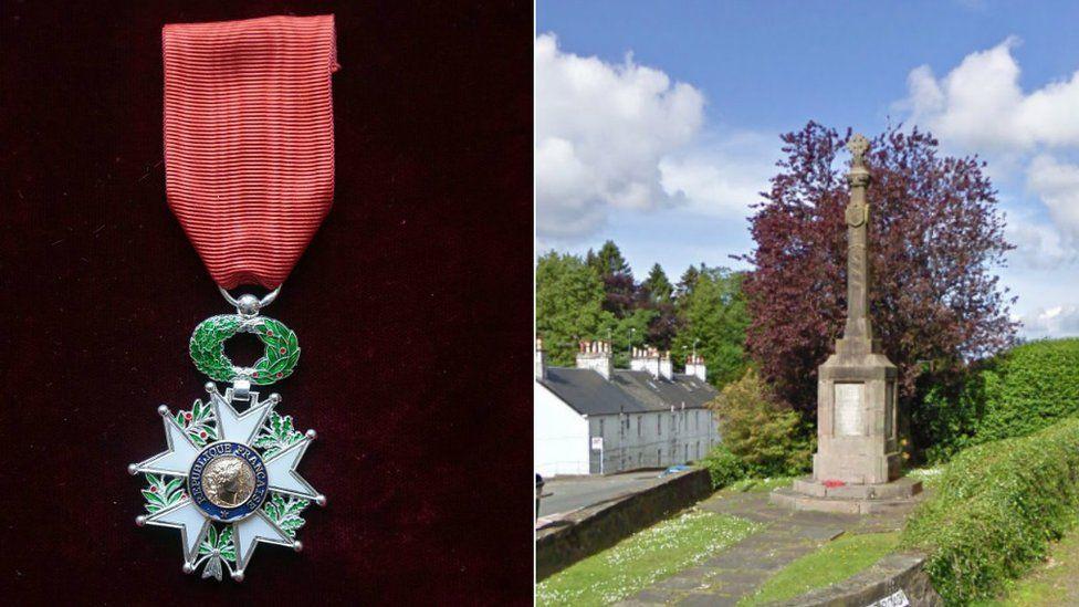 Legion of Honour medal / Strathblane
