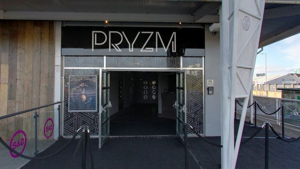 Pryzm nightclub in Plymouth