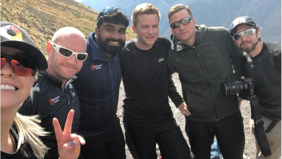 Jack and his team, Mount Elbrus