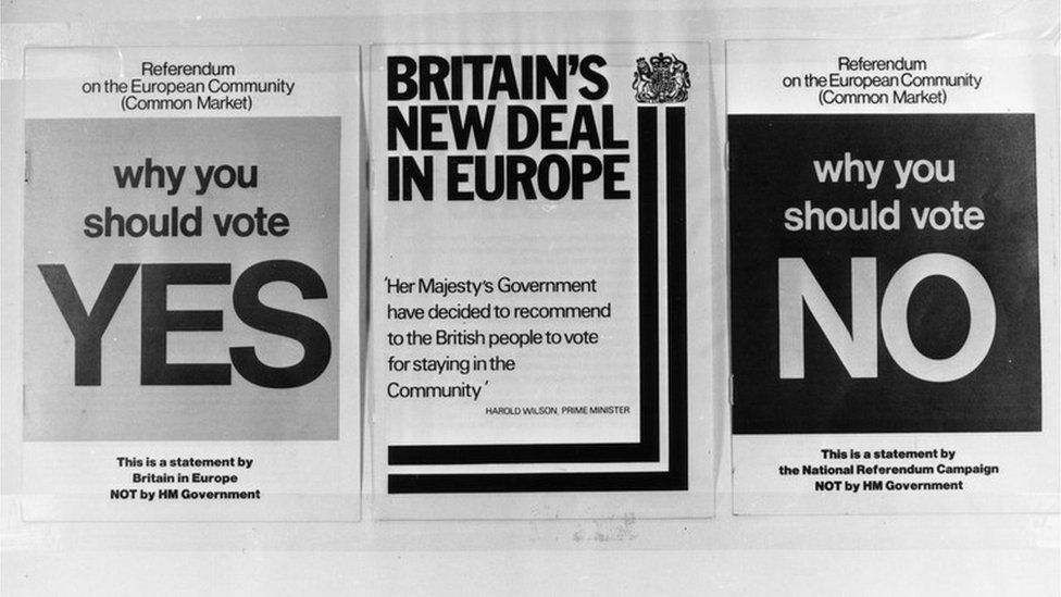 Yes/No leaflets