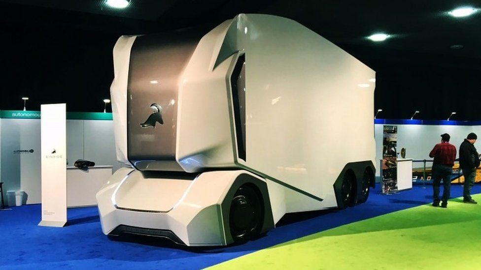 Einride T-pod autonomous truck