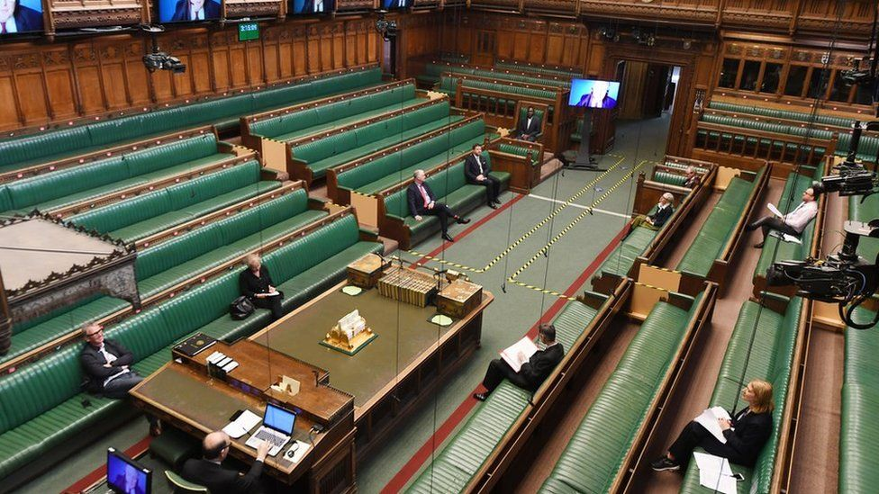 MPs rehearsing new working arrangements