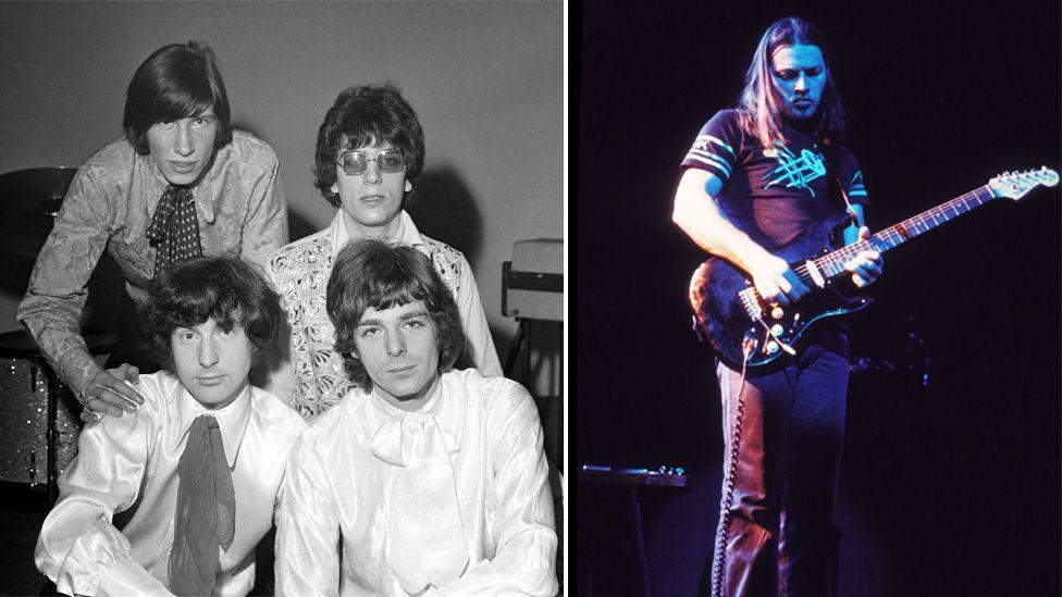 Pink Floyd original line-up and David Gilmour