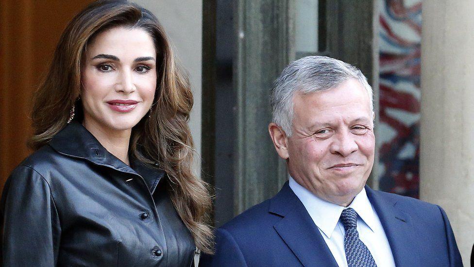 King and Queen of Jordan in 2019