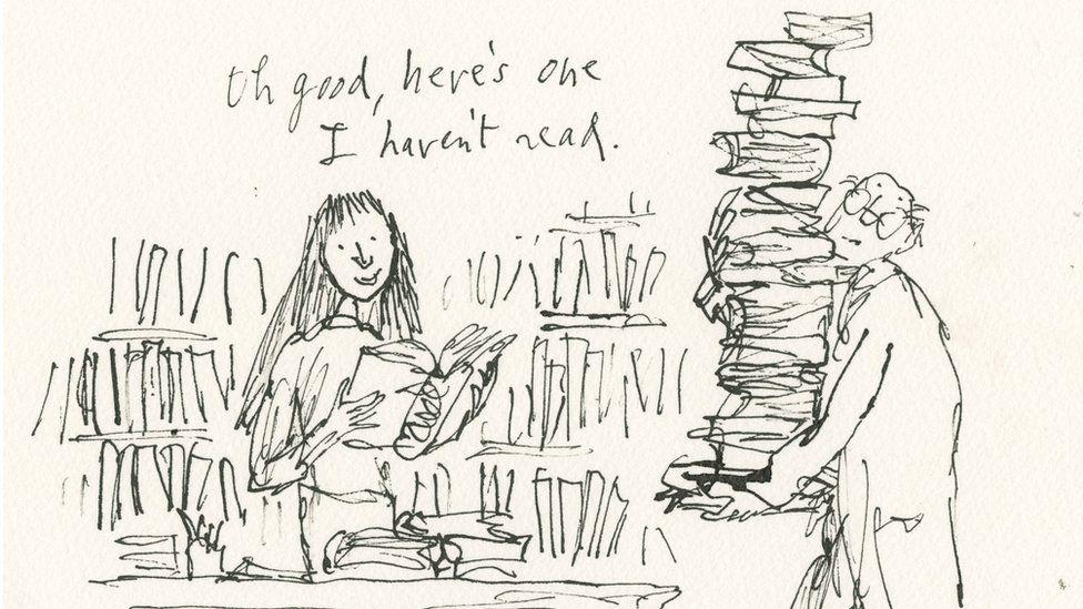 Matilda as CEO of British Library