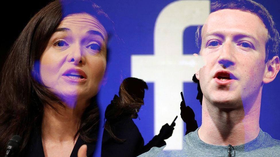 How the star of Sheryl Sandberg dimmed - BBC News