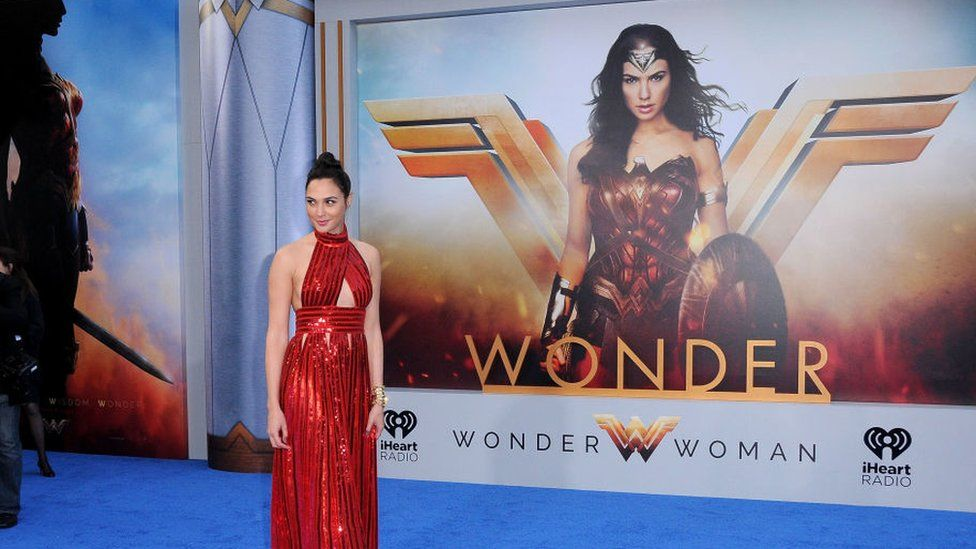 Gal Gadot played Wonder Woman in the 2017 Hollywood film