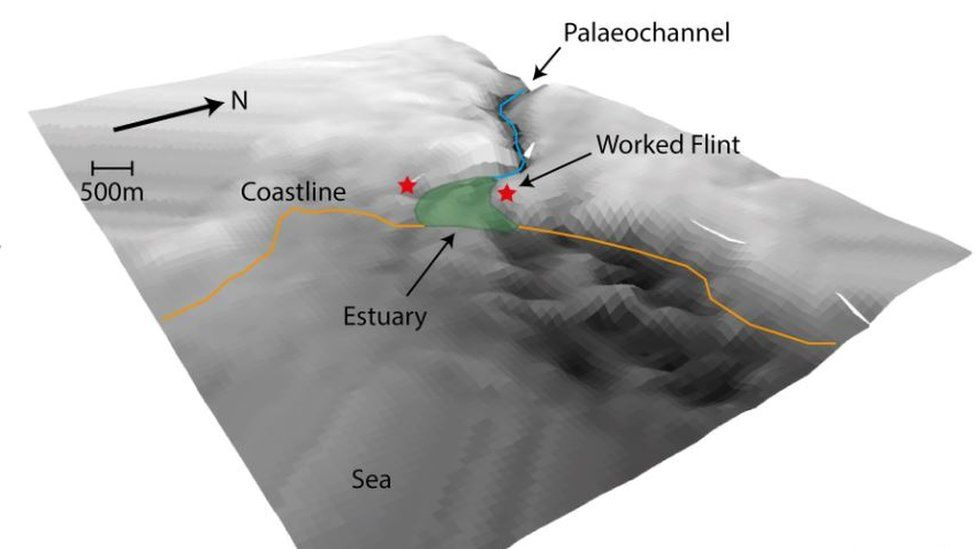 3D surface model of Southern River