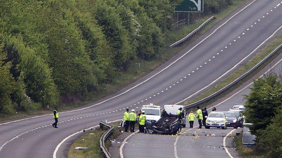 A41 crash
