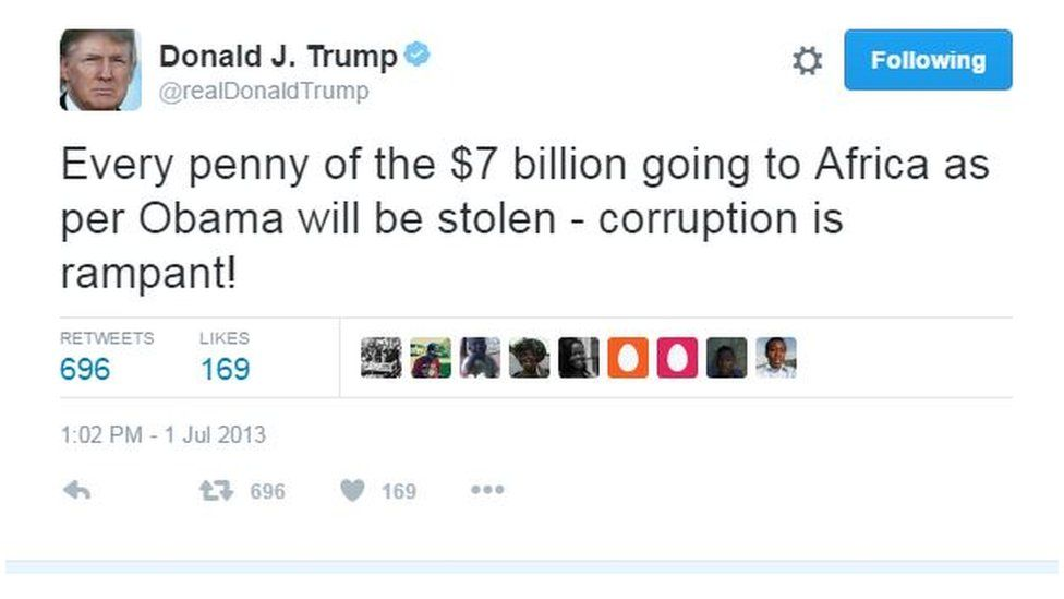 Every penny of the $7 billion going to Africa as per Obama will be stolen - corruption is rampant! (2013)