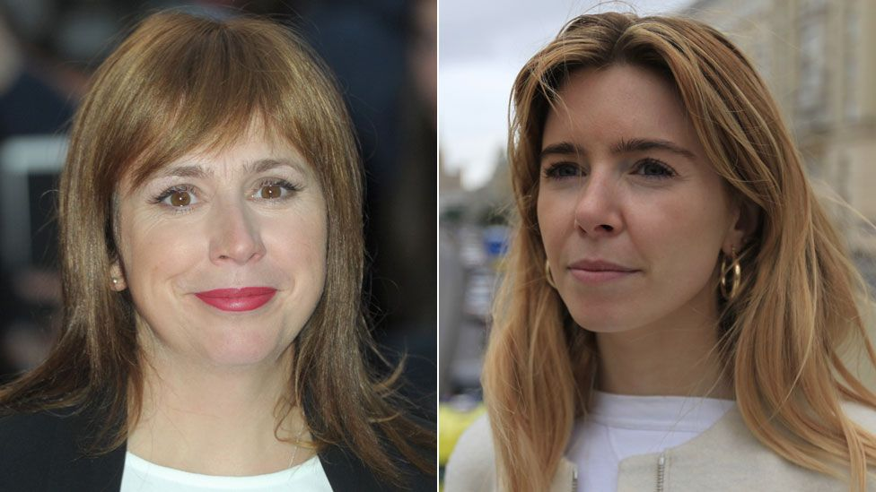 Abi Morgan and Stacey Dooley