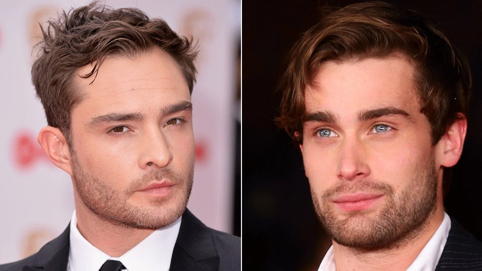 Ed Westwick and Christian Cooke