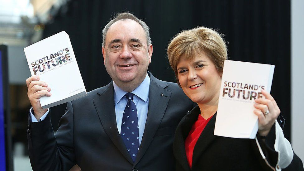 Salmond and Sturgeon: What is the controversy all about? - BBC News