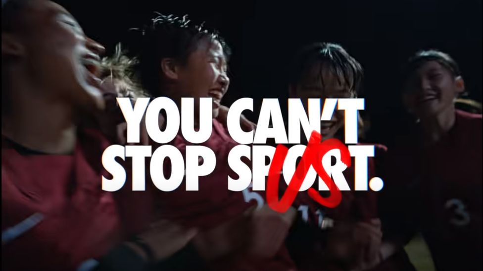 Nike S Diversity Advert Causing A Backlash In Japan Bbc News