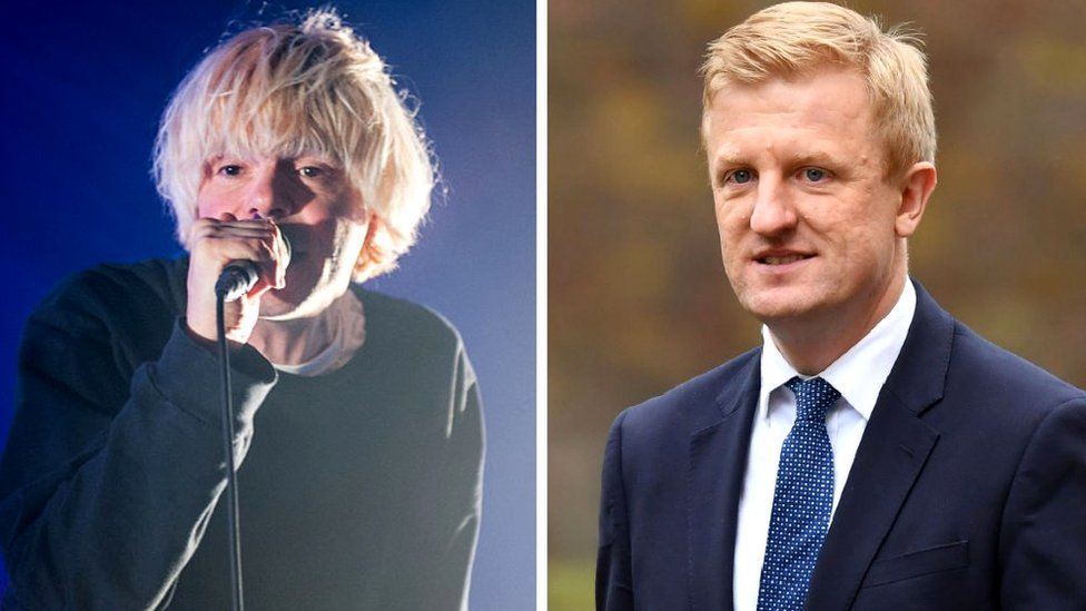Tim Burgess and Oliver Dowden