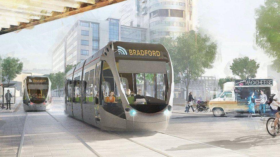 West Yorkshire 'transformational' mass transit plan ...