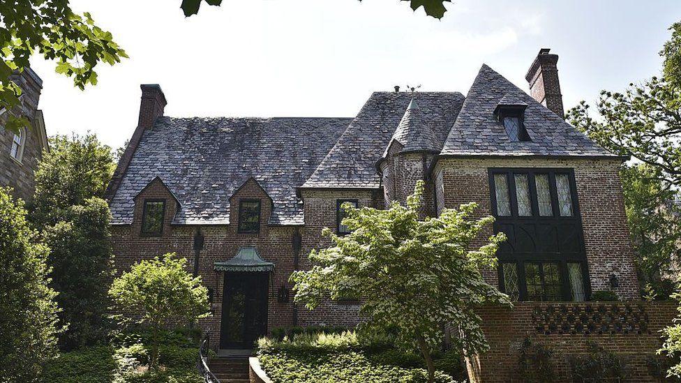 The Obama home in Washington DC