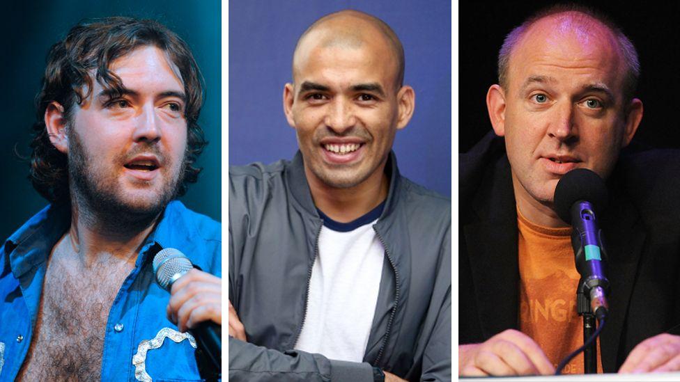Nick Helm, Masai Graham and Tim Vine