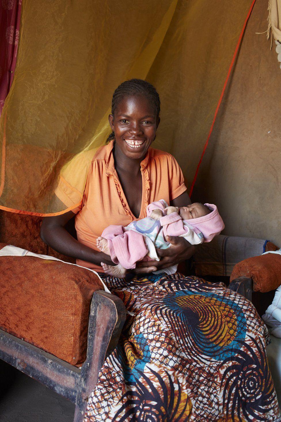 Rita Shaba, baby: Ruth