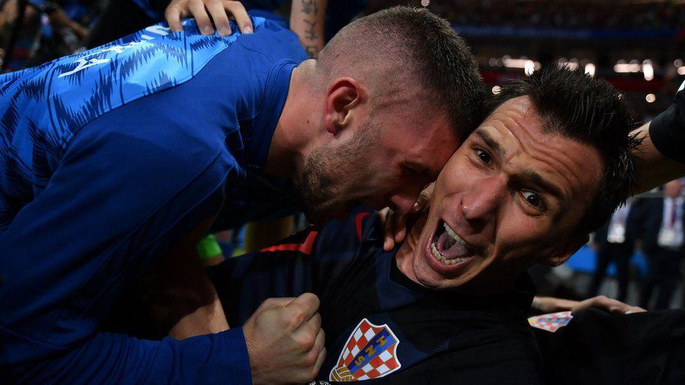 Mandzukic celebrates