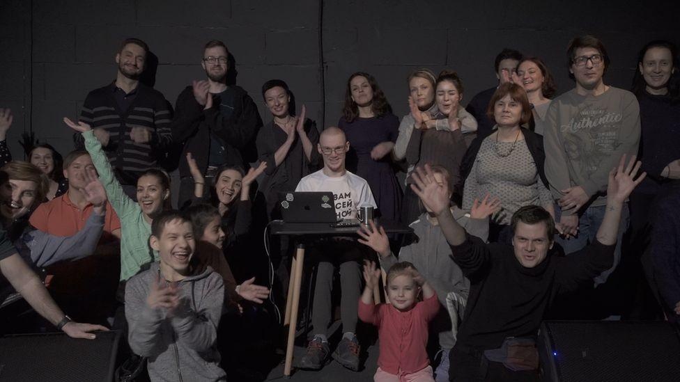 Выступление Ивана Бакаидова в Москве в декабре 2018 года