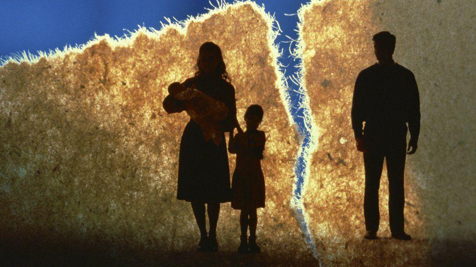 Image showing family break-up