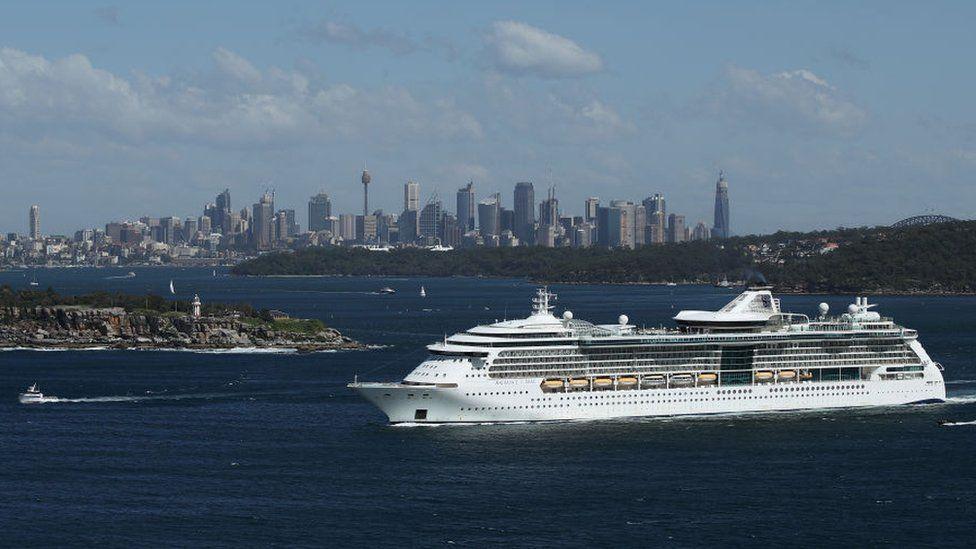 The Spectrum of the Seas in Sydney, Australia