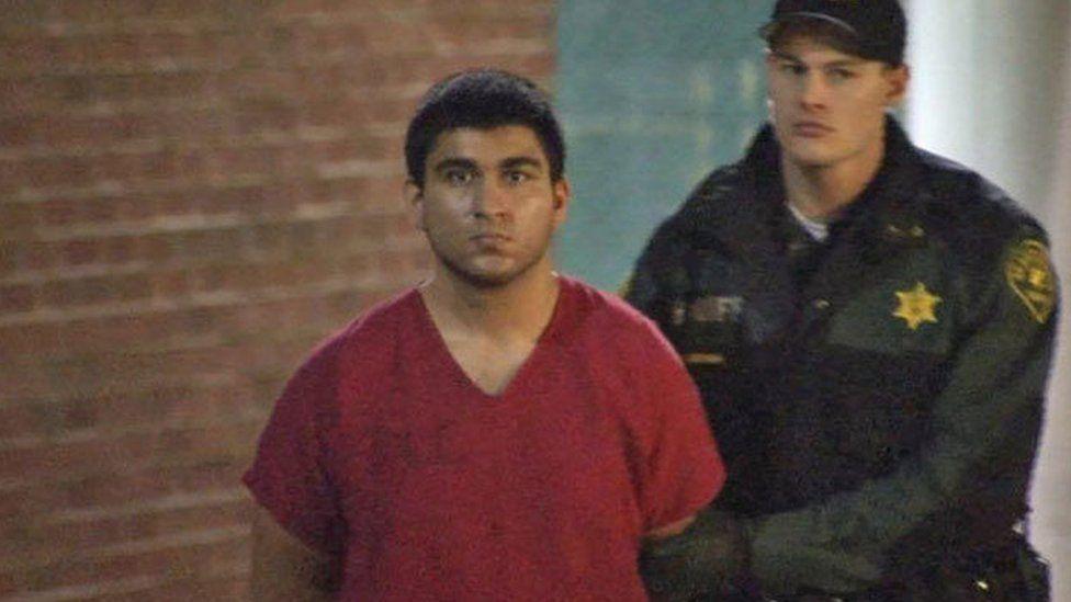 Cetin, shortly after his arrest